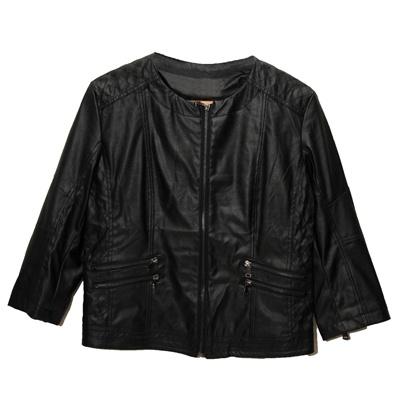 Designer PU Leather Jacket for R465