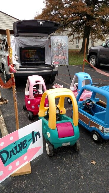 Drive In Trunk Or Treat At Church Trunk Or Treat Ideas
