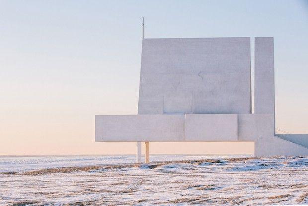 Le studio d'architecture chinois Vector Architects, vient de réaliser une chapelle en bord de mer sur la côte de Bohai en Chine. Ce bâtiment qui mélange le