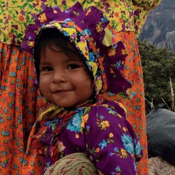 Una belleza Rarámuri, una verdadera joya de las Barrancas del Cobre, Chihuahua. Sierra Tarahumara!!