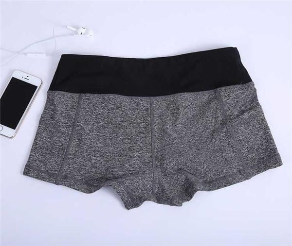 Pocketed Spandex Shorts