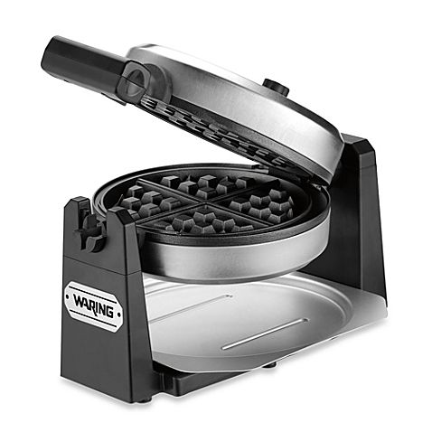 Healthy Special Occasion Birthday Cake Flavored Waffle for One + enter to win a Waring Pro Belgian Waffle Maker from @anediblemosaic