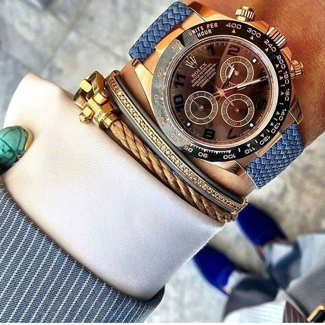 Rolex Daytona , This combo is wonderful ! ⌚️#beautifulmenswatches #rolex #daytona #rolexwatch #rolexwrist #watch #bracelet #combo #dress #beautiful #lovely #perfect #amazing @whatusmenlike