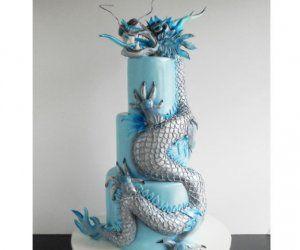 3d dinosaur cake instructions