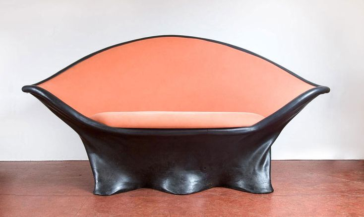 Creative Furniture Made With Rubber by Wout Wessemius