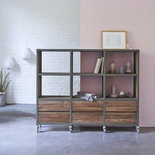 Die besten 25+ Bücherregal aus metall Ideen auf Pinterest - bucherregal aus holz originelles design info new