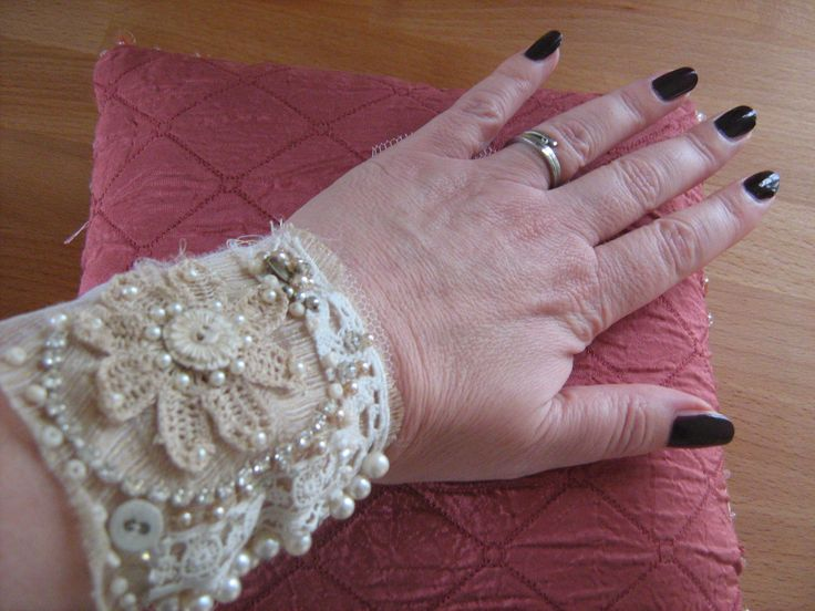 bridal cuff made to order