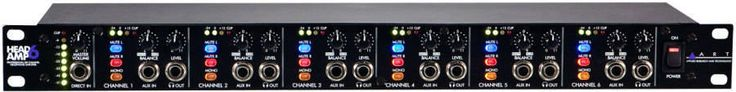 ART Pro Audio - 6 Channel Headphone Amp    $155 + tax