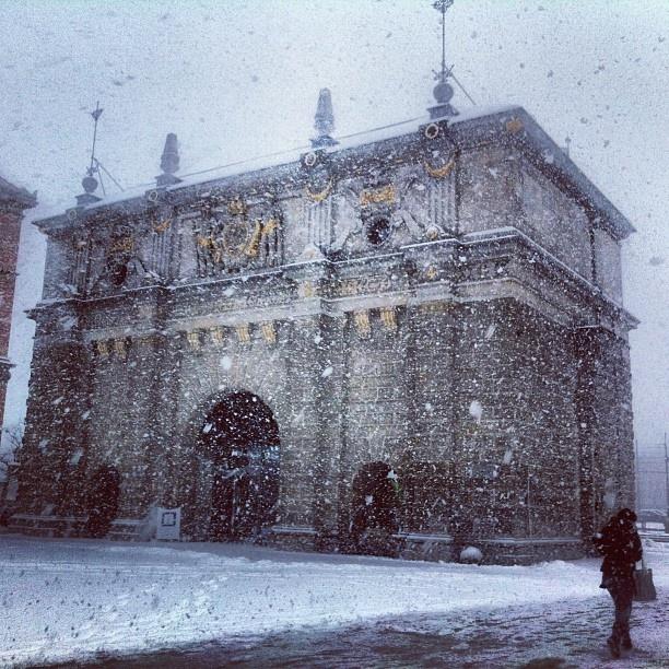 Brama Wyżynna #igersgdansk #gdansk #pomorskie #poland #zima #winter #pomorskietravel (w: Pomorska Regionalna Organizacja Turystyczna)