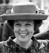 Op 31 januari 1995 viert koningin Beatrix haar 57ste verjaardag.
