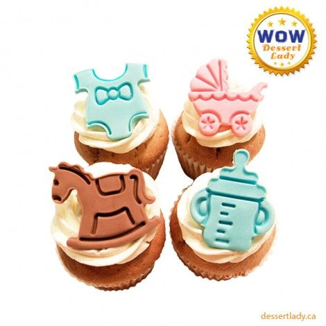 Dessert Lady offers a wide range of 3D custom cupcakes to order from various tried & trusted recipes at competitive prices. We bake everything fresh using high-quality ingredients so that you can always enjoy the fresh and yummy baked treats.