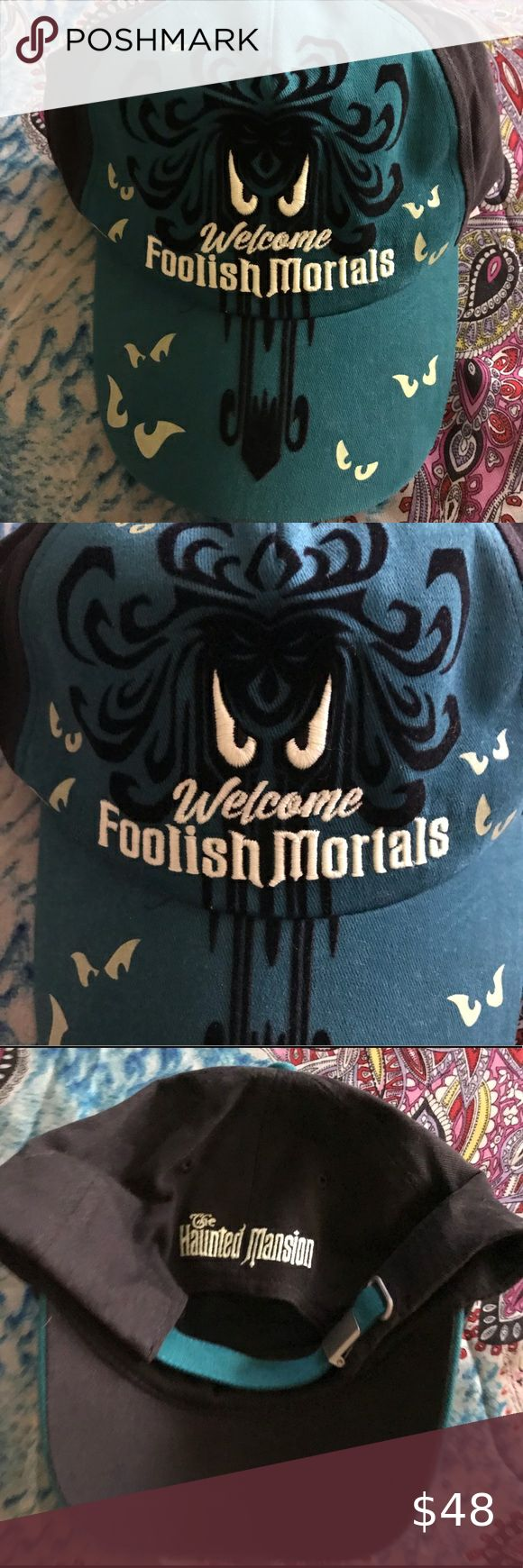 Disney's Haunted Mansion Wallpaper Hat NWT in 2020