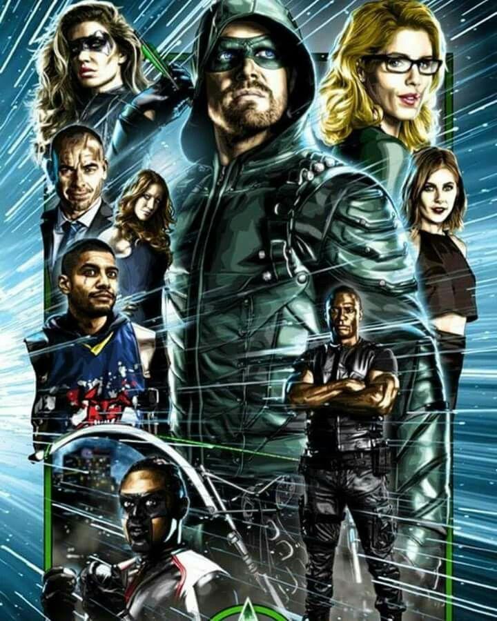 Team Arrow 2017 Comic Tv Images Team Arrow Arrow Art