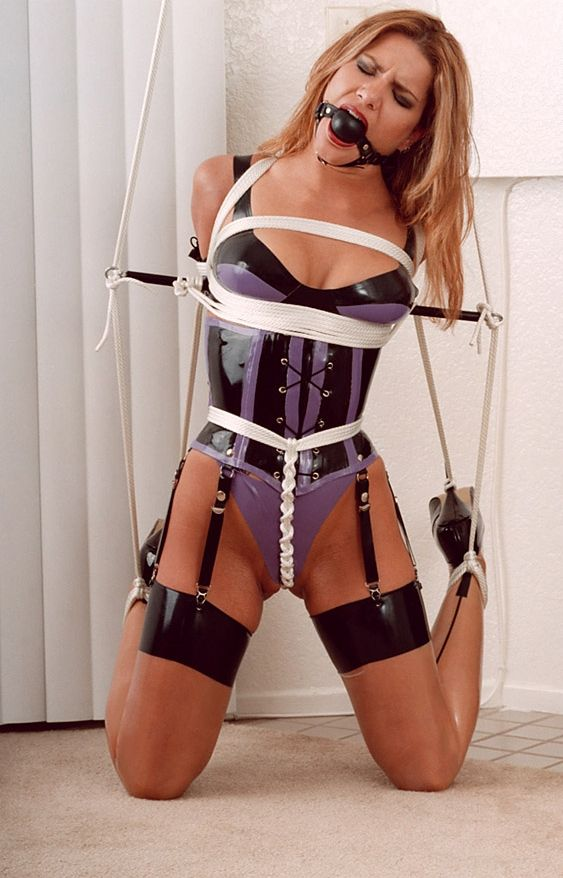 Ass girls full suspension bondage perfect figure