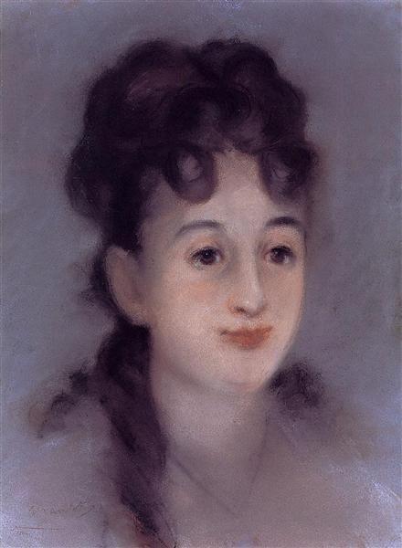 Eva Gonzales, 1878 - Édouard Manet. Realismo