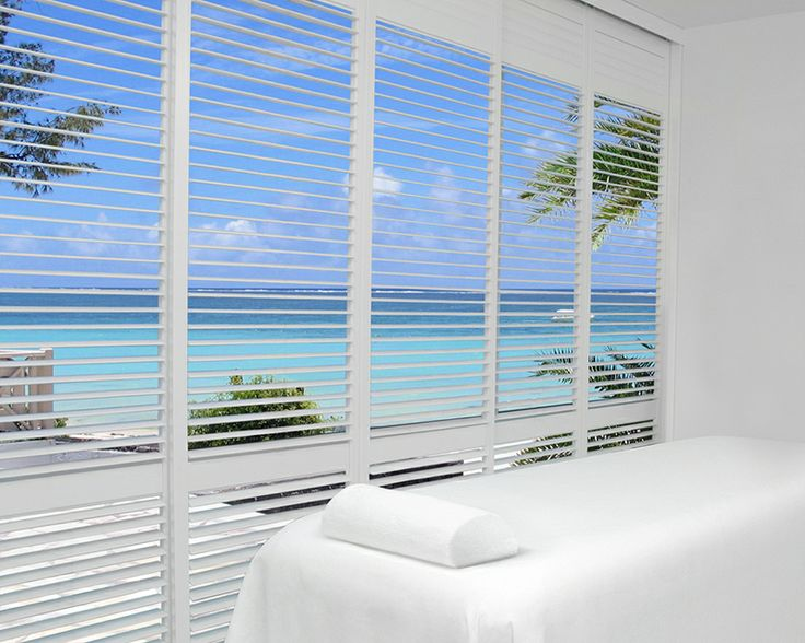 17 best images about hunter douglas on pinterest window treatments designed to infuse a feeling of relaxation white lends a sense of peacefulness to this serene setting palm beach polysatin shutters hunter douglas solutioingenieria Images