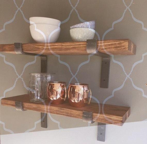 Blindsiding Cool Ideas: Floating Shelf Styling Cou…
