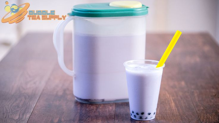 Learn how to make Taro Bubble Tea by the gallon using Bubble Tea Supply's Taro Flavor Powder with Boba Tapioca Pearls by Neptune Ice. This is the standard recipe for our flavor powder however you can easily substitute in milk, almond milk, etc for the creamer and water. You can also change out the sweetener to match the flavor preferences of your customers or friends and family. Visit our website for the full recipe.