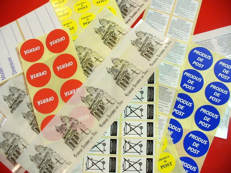 Stickere Imprimate in Rola