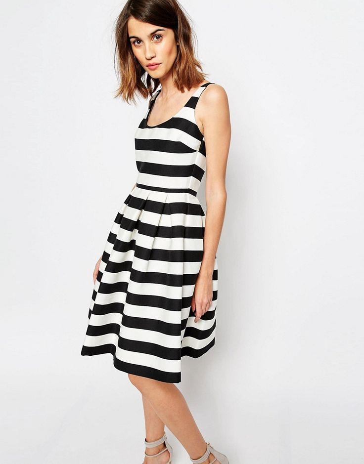 Warehouse+Premium+Stripe+Prom+Dress