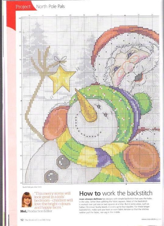 North Pole Pals 3-4 Gallery.ru / Фото #6 - The world of cross stitching 195 - WhiteAngel