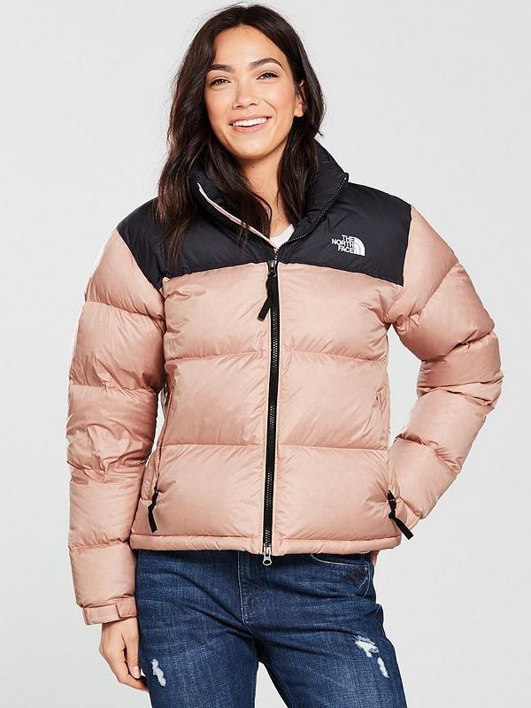 The North Face 1996 Retro Nuptse Jacket Misty Rose In 2019 Coats