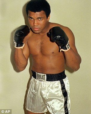 """Muhammad Ali, the silver-tongued boxer and civil rights champion who famously proclaimed himself """"The Greatest"""" and then spent a lifetime living up to the billing, 74, died of respiratory complications due to Parkinson's disease. 2016"""
