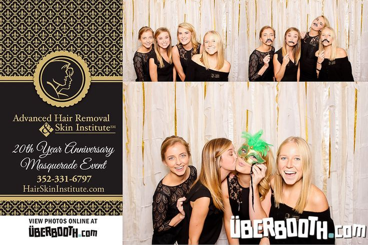 25th Anniversary Masquerade Event at the Advanced Hair Removal & Skin Institute - UberBooth