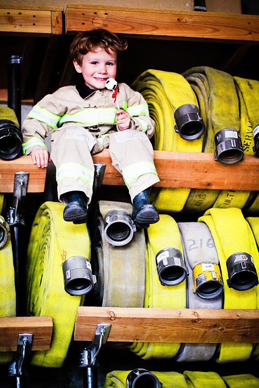 great picture idea for fire fighters son