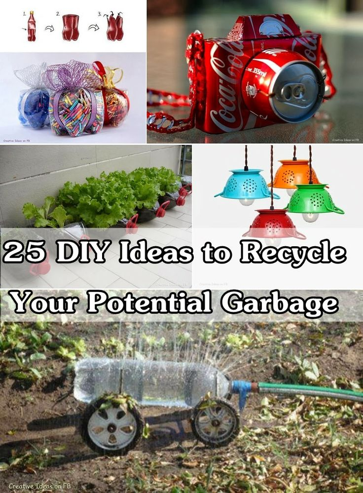 Diy Projects: 25 DIY Ideas to Recycle Your Potential Garbage