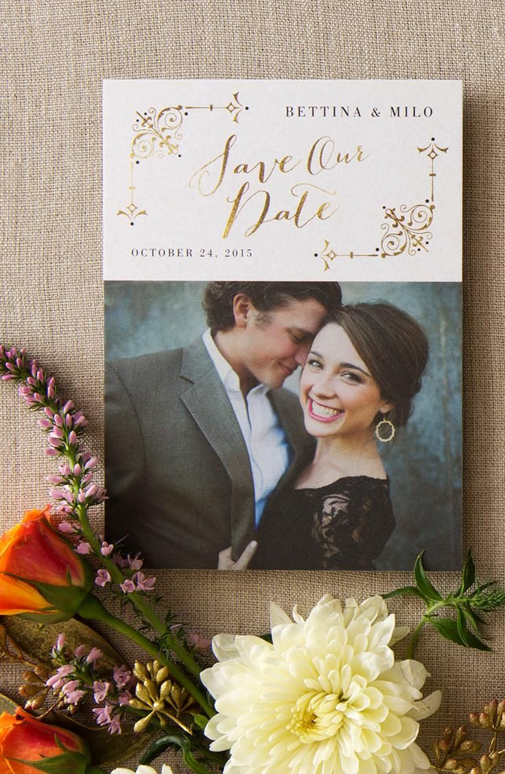 'Tis the season to get engaged! Picture yourself while browsing our save the dates. With Wedding Paper Divas My Photo feature you can see your favorite pic in every design at once.