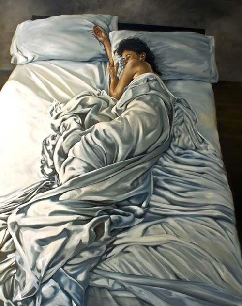 Super Realism Women Paintings By Eric Zener