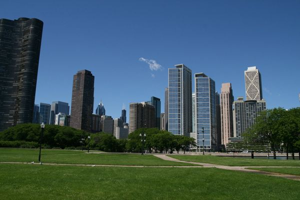Best Escape From Navy Pier: Milton Lee Olive Park (Photo by Brent Rostad)