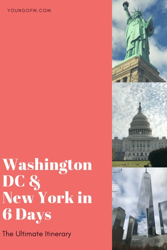 The Ultimate 6-Day Washington, DC and New York Itinerary