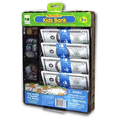 The Learning Journey Kids Bank-Play Money Set