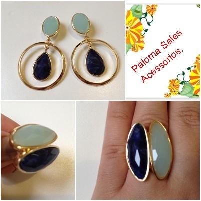 Pin by Paloma Sales on Semi jóias diferenciadas com pedras ...