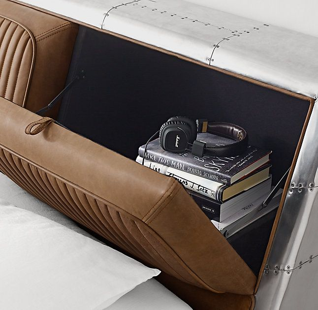 Aviator Storage Bed