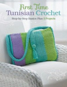First Time Tunisian Crochet... I already know the basic stitch, but could never think of anything to do besides blanket squares. This will come in handy!