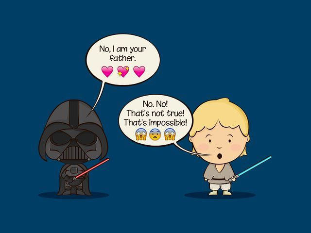 Luke Skywalker reaction - Star Wars Emoji Chat