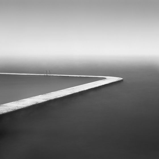 David Burdeny  Beach Pool, Normandy, France 2004