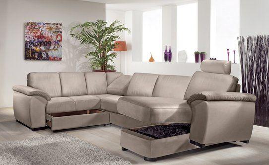 Design classico ed elegante Il divano con doppio angolo Sarah è perfetto in una zona giorno molto ampia perché con le sue dimensioni può accogliere proprio tutti. Questo modello ha un design elegante che ripercorre lo stile...