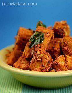 Mustard Masala Jackfruit recipe | Indian Subzi Recipes | Tarladalal.com #jackfruit