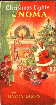 vintage christmas advertisements | vintage_ads: Noma Christmas Ads