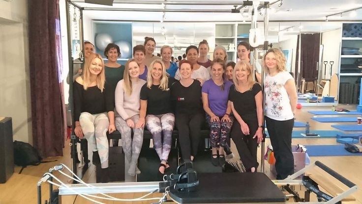 A great weekend on an interesting Pilates course with a great bunch of Pilates teachers and a great tutor Samantha at the lovely Live & Breathe studio in Dublin. ❤️Pilates!