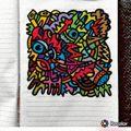 Ottograph painting - amsterdam . . #amsterdam #drawing #paint #graffiti #marker #streetart #popart #art #kunst #canvas #urbanart #gallery #freehand #tattoo #design #ink #illustration #linework #canvas #graphic #mural #artist #acrylic #painter #illustratio