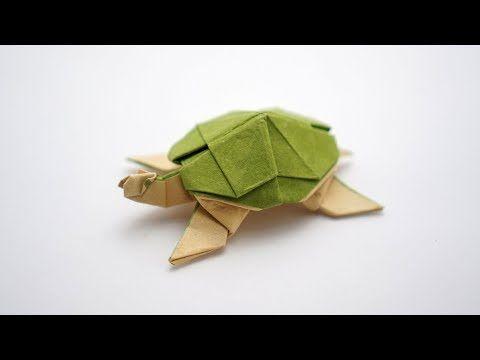 ORIGAMI TURTLE (Marc Vigo) 🐢 – YouTube