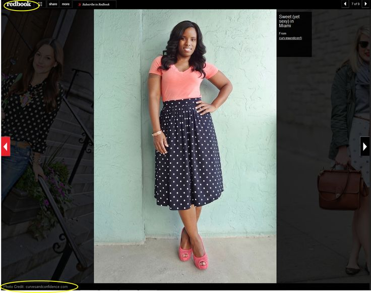 Curves and Confidence | A Miami Style Blogger: Curves and Confidence in Redbook