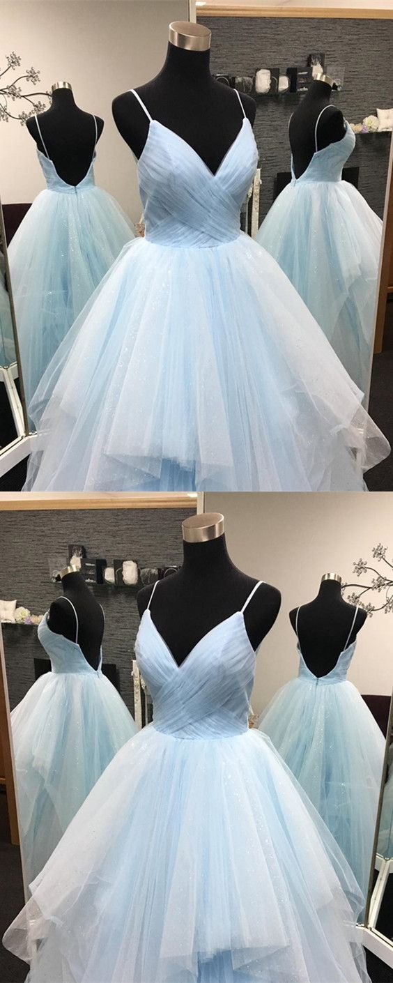 Sexy pleated tulle vneck ruffles ball gowns quinceanera dresses in