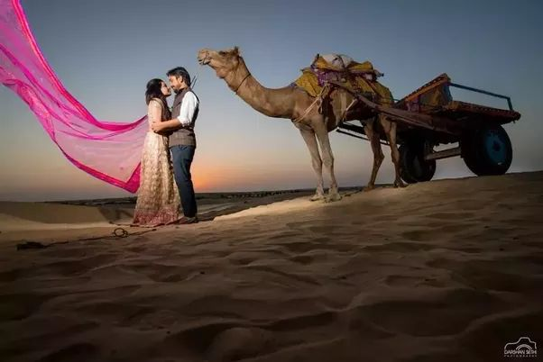 Enjoy pre-wedding photo shoot in Jaipur and make your moment unforgettable because we will give you the perfect wedding shoot portal at low cost.