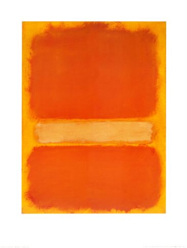 Untitled, c. 1956 by Mark Rothko. Print from Art.com, $36.99